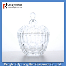 LongRun festival home decoration crystal small candy box with lid