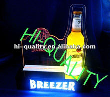2012 hot sales Acrylic Wine Bottle Display Stand