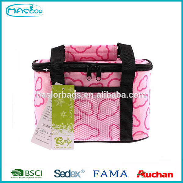 6 pacote gâteau thermique doublé refroidisseur sac à vendre