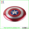 2015 New product CE FCC ROSH Captain America Power Bank Customized mobile power bank