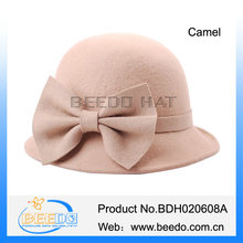 long brim felt women's wedding hats elegent wedding dress hats sale