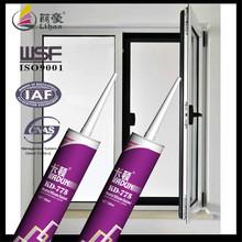 aluminum door and window glass sealant acessories