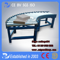 Tianyu brand delicate design Gravity Roller Conveyor for trays Tel:86 373 5816691