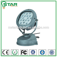 18w RGB outdoor round led wall washer
