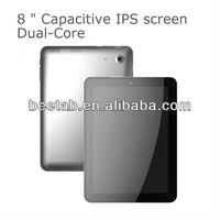 "8"" RK3066 HD screen Good quality Metal case tablet,Dual-Core,ARM Cortex-A9; 1.6GHz X 2 Good quality Metal case tablet"