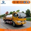 Camión de agua 4 * 2 4000L DFAC riego por aspersión, camiones tanque de agua utilizada para la venta