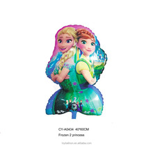 CY Latest Design Anna Elsa Princess Series Balloon Factory Supply