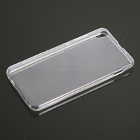 wholesale ultra slim clear plastic mobile phone back pouch for lenovo s850
