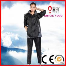 Maiyu hooded pocket rain coat for fishing, bike, motorcycle