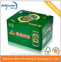 wholesale cardboard cheap custom design beer packaging carton