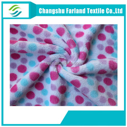 print Coral fleece fabric china wholesale in naples