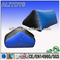 inflatable paintball air field,inflatable bunker