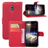 Flip leather cover case for vodafone smart 4 turbo max
