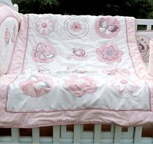 Fancy printed quilt patchwork bedspread for children