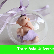 High Quality clear plastic bauble