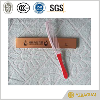 colorful logo customized hotel or travel plastic cheap hair comb