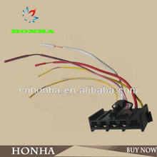 auto AMP custom iso connector cable assembly molex female and male electronic adapter housing terminal cable wire harness