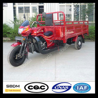 SBDM New Motorized Gasoline Engine Covered Tricycle