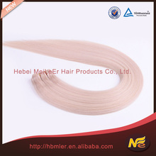 Natural brazilian 100% virgin honey blonde brazilian hair weave