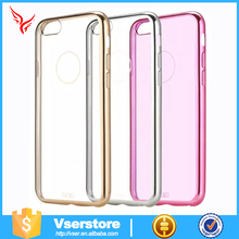 Hot Selling Products Hight Quality Electroplating TPU Cell Phone Case for iphone 6s