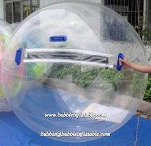 Clear bubble inflatable water walking ball, huge inflatable water zorb rental