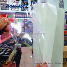 Good quality transparent glossy white car paint protection film