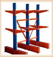 Storage Steel Cantilever Rack Shelving for long objects,Single/Double sided