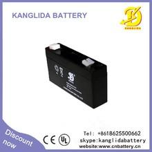 Rechargeable Solar Battery 6V 1.3ah Gel Battery Maintenance Free