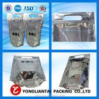 Custom Stand Up Aluminum Foil Bag High Moisture Barrier