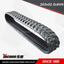 Rubber Products rubber tracks for excavator,small robot rubber tracks