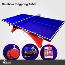 OEM High Quality Rainbow Ping Pong Table For Indoors