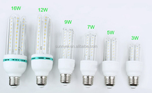 New Design 3W/6W/9W U-shaped led corn light