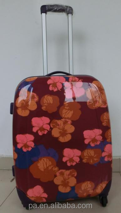 2014 high quality new design trolley bag cover travel suitcase