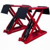 Servicing machine portable hydraulic scissor portable car lift/wheelchair lift