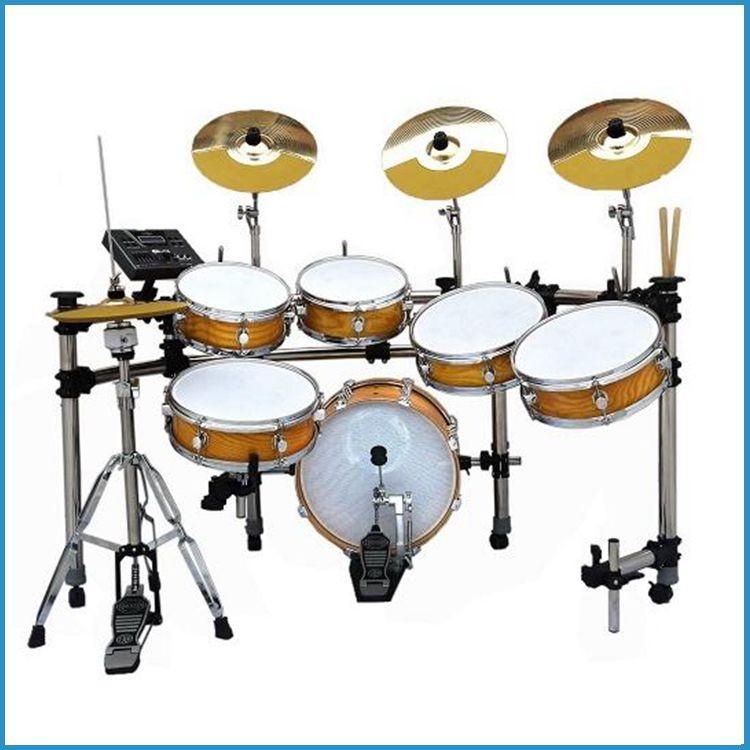 Duplo toque fora snare drum bateria eletrônica/digital drum kit/cilindro elétrico set