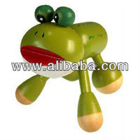 Hand Held Body Massager Frog Shape for Back and Neck Relaxing Massage