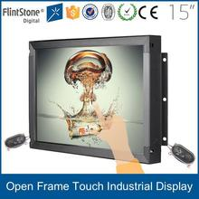 """FlintStone 15"""" 19"""" 22"""" 32"""" 42"""" 55"""" portable tv lcd frameless multi-touch monitor with h-d-m-i composite av inputs"""