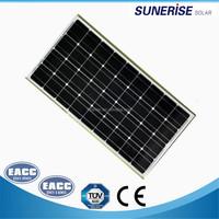 1200*540*30mm 36cells mono 80watt solar cells price