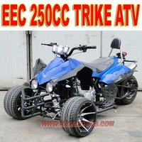 EEC 250cc 3 Wheel Scooter
