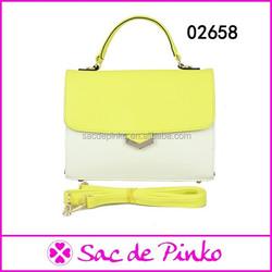 2015 Leather bags classic designer hand bags china handbag manufacturer /fashion office lady handbag online shopping