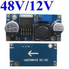 high voltage dc dc converter 48v to 12v dc step down module manual voltage regulator 2A 3Amax 15Wmax