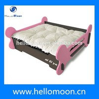2015 New Arrival Factory Wholesale Best Quality Luxury Wood Pet Dog Bed