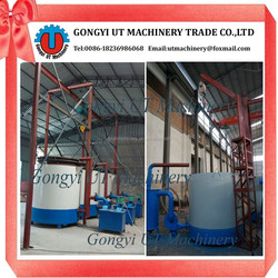 Hositing type airflow carbonization oven to carbonizing coconut shell charcoal
