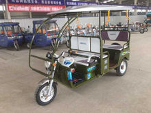 Eco-friendly electric tricycle used for India