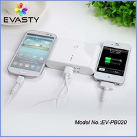 Manufacturer wholesale DUAL USB 2.1A mobile travel charger 8000mAh 10000mAh battery power bank for iPhone ipad