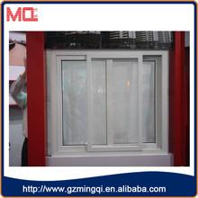 HIgh quality Conch Brand pvc sliding window glass sliding reception window