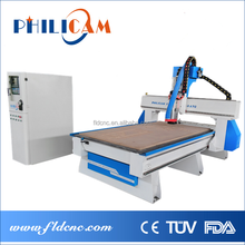 China Jinan woodworking cnc router with linear ATC 6 8 10 tools