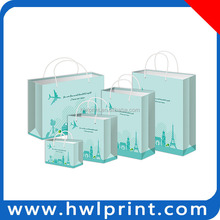 printed luxury texture paper shopping bags