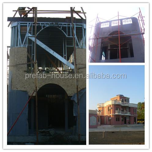 ligth luxury steel villa