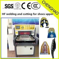 Automatic Sliding Shoe Upper High Frequency Welding Machine, Shoe Covers TPU Mesh Fusion